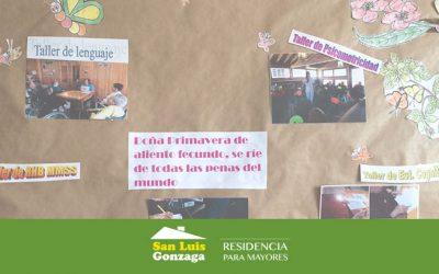 Actividades y talleres para la Tercera Edad en Residencia de Madrid
